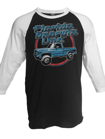 2017 Smooth Tour - Unisex Truck Raglan