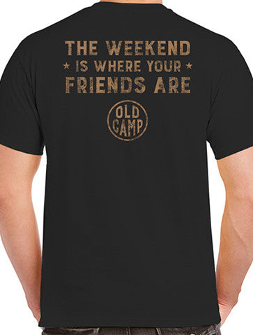 "Black ""The Weekend"" Tee"