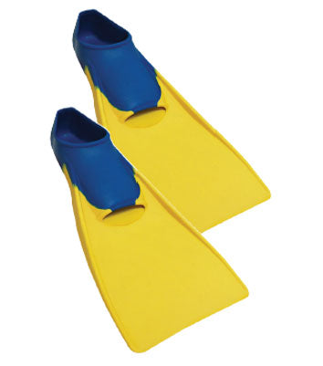 View Swim SF-1201Y Adult Fins Rubber Fins
