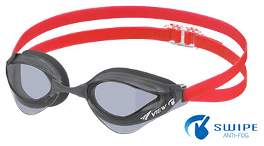 View Swim SWIPE V230-ASAC Blade Orca Adult Racing Goggle