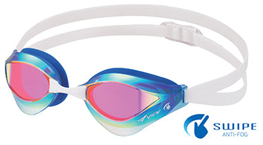 View Swim SWIPE V230-ASAMC Blade Orca - Adult Racing Goggle - Mirror