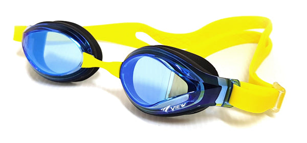 View Swim V760JAMR Junior Curved Lens Mirror Goggle