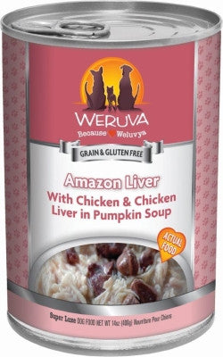 Amazon Liver Grain Free Canned Dog Food
