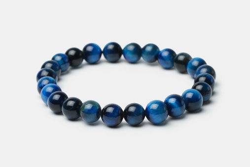 Blue Tiger's Eye // Beaded Bracelet