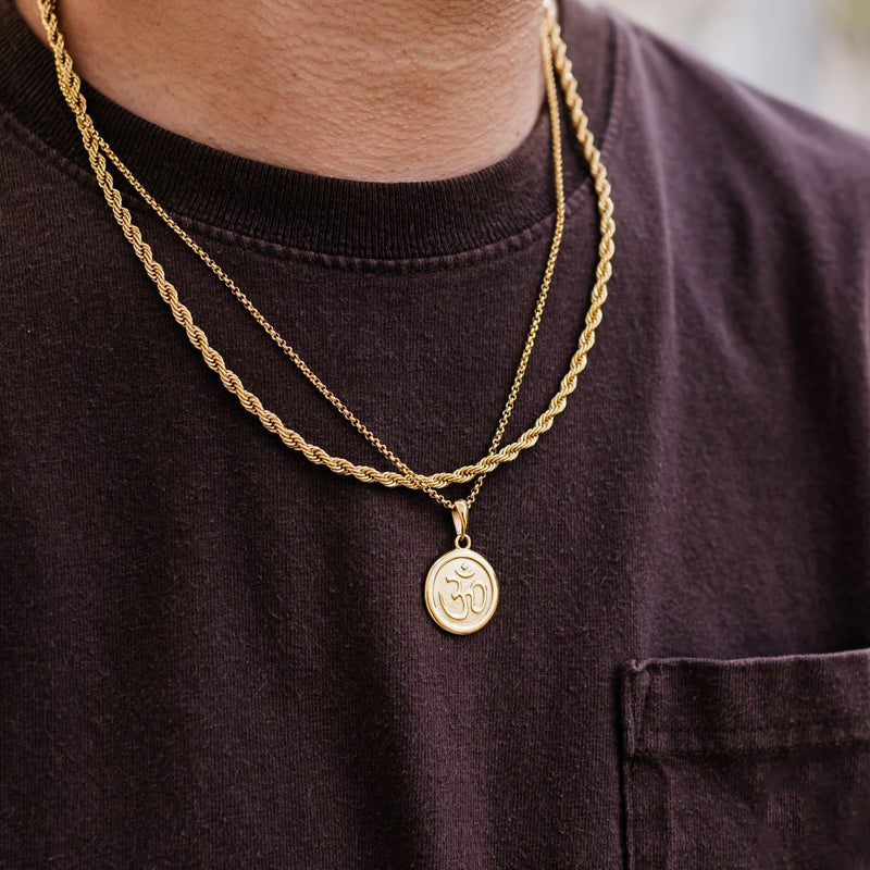 Rope Chain // Gold Plated Stainless Steel