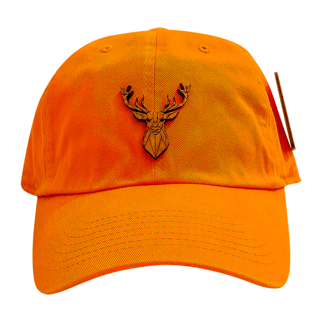 Deer Orange Dad Hat