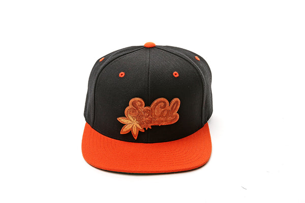 Socal Wood Logo Snapback
