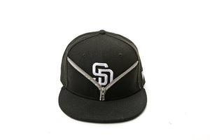SD Zipper Snapback