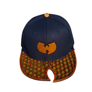 Wu Honeycomb Wood Brim Hat
