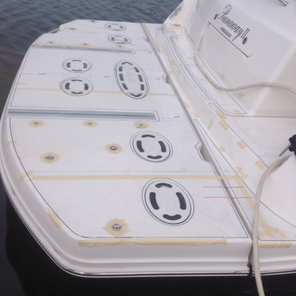 How to create a great template for your marine deck flooring.