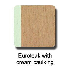 Dek-King Euro with cream synthetic teak flooring