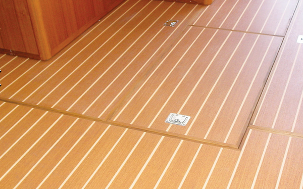 Lonseal - Boat Vinyl Flooring L-trim to finish edges where needed