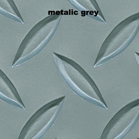 lonplate 1, color - metalic grey