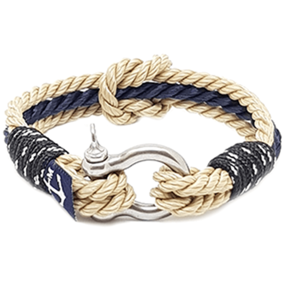 Capt. Sparrow Nautical Bracelet by Bran Marion