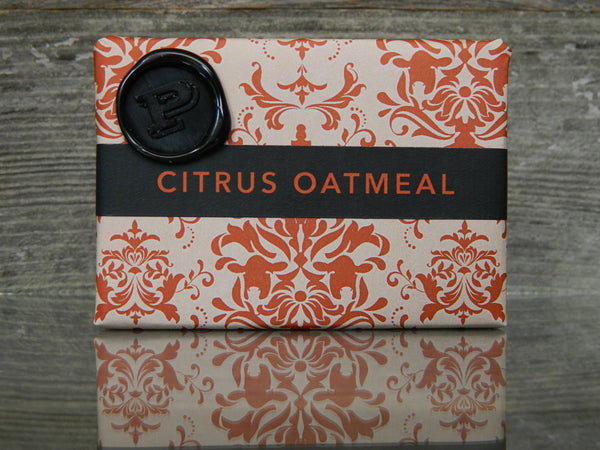 Citrus Oatmeal Spice Soap
