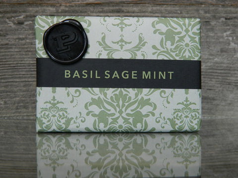 Basil Sage & Mint Soap