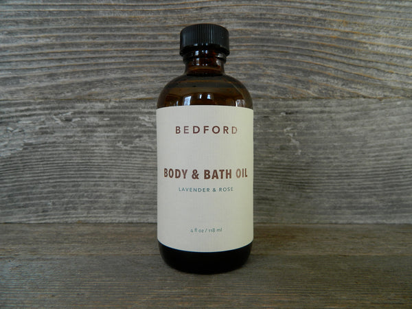 Body & Bath Oil - Lavender & Rose Infused