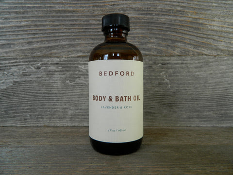 Body & Bath Oil - Lavender & Rose