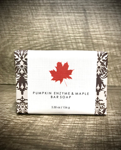 Maple Pumpkin Enzyme Soap