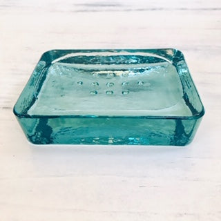 Recycled Glass Soap Dish