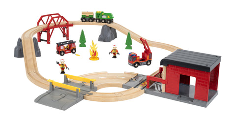 Brio Fire Rescue Set Jasper Junior