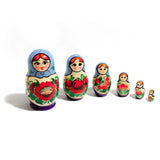 Traditional Babushka Set of 6