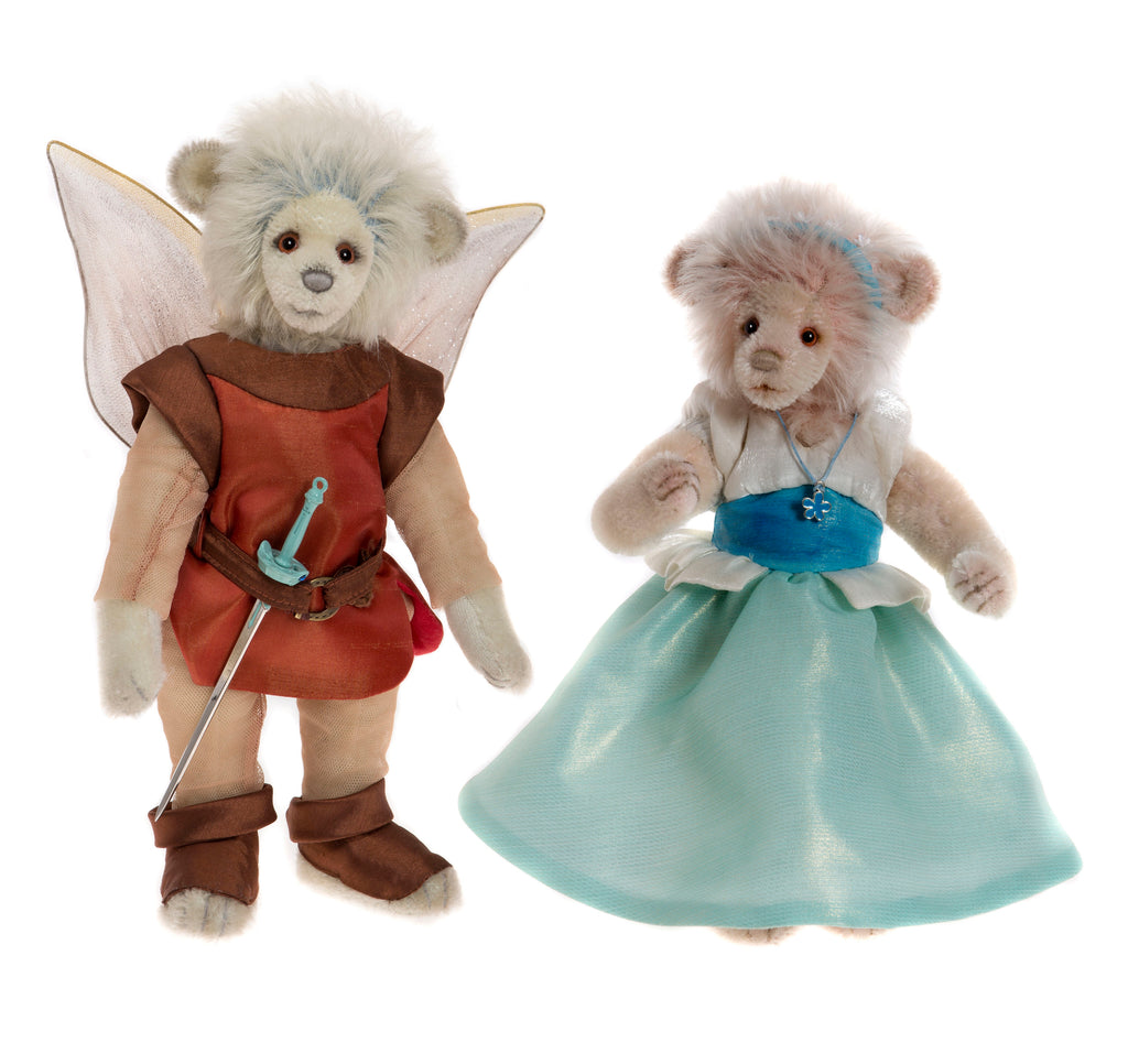 Charlie Bear Thumbelina & The King of the Fairies