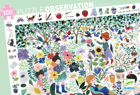 Flowers Observation Puzzle 100pc