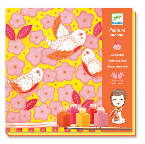 Sparrows Silk Painting Kit