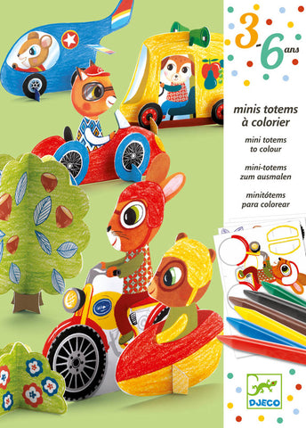 Little Cars Colouring Kit
