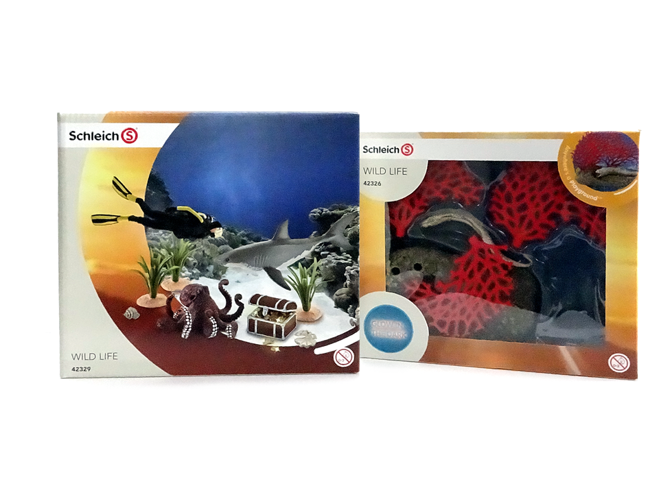 Glow In The Dark Schleich Set