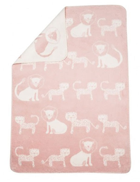 Bamboo Jungle Rose Pink Blanket