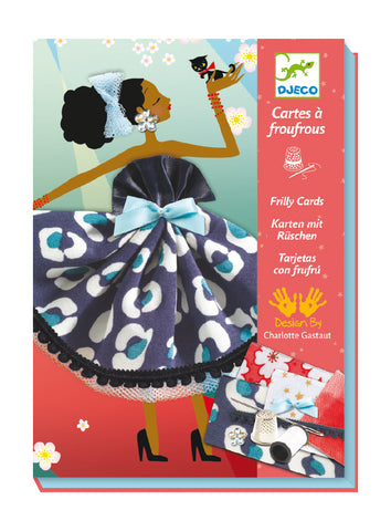 Frilly Cards Sewing Kit