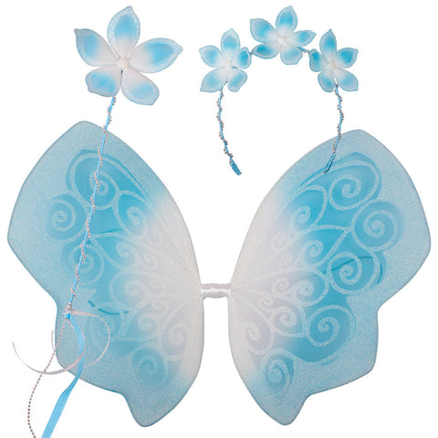 Beautiful Blue Fairy Set