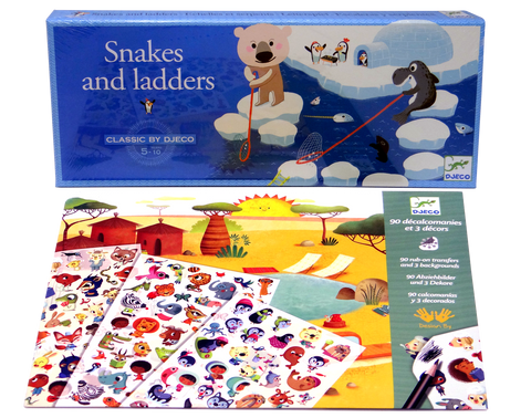 Animal Games & Craft Activity Set