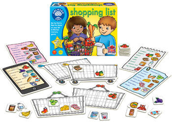 Shopping List Game and Booster Pack.