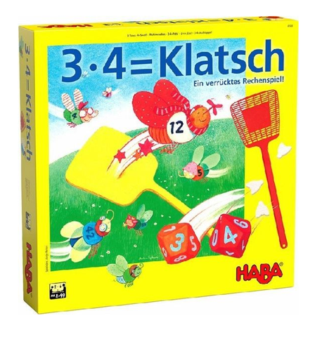 Haba 3 x 4 = Swat! Multiplication Game