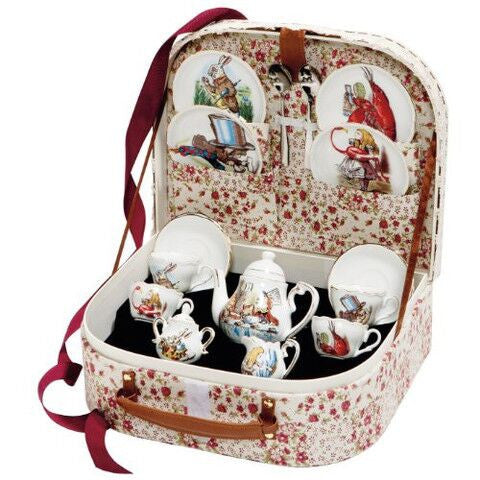 Jasper Junior German Teaset Alice In Wonderland
