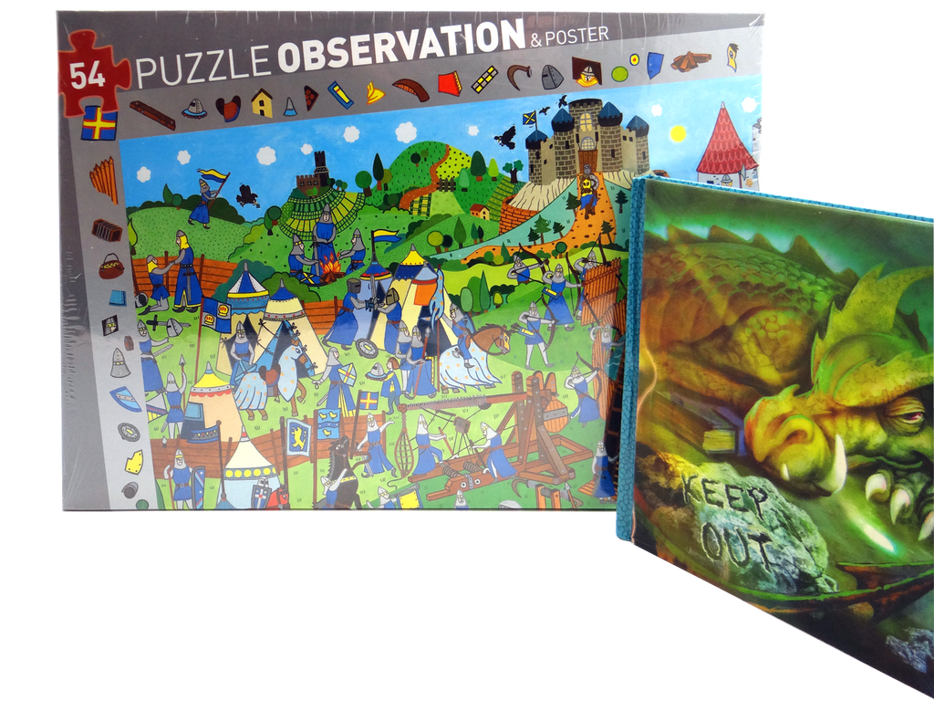 Knight Puzzle and Diary Set