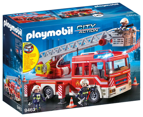 Playmobil City Action Fire Engine with Lights and Sounds