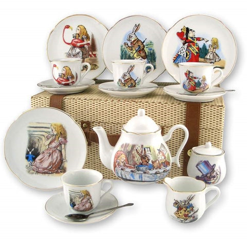 Alice In Wonderland Porcelain Picnic Set