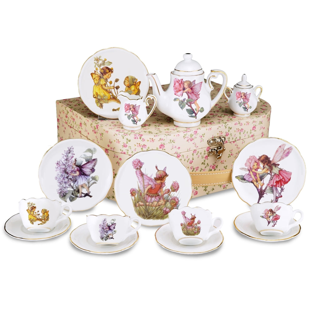 Flower Fairies Porcelain Teaset