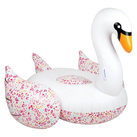 Sunnylife Luxe Floral Swan Float