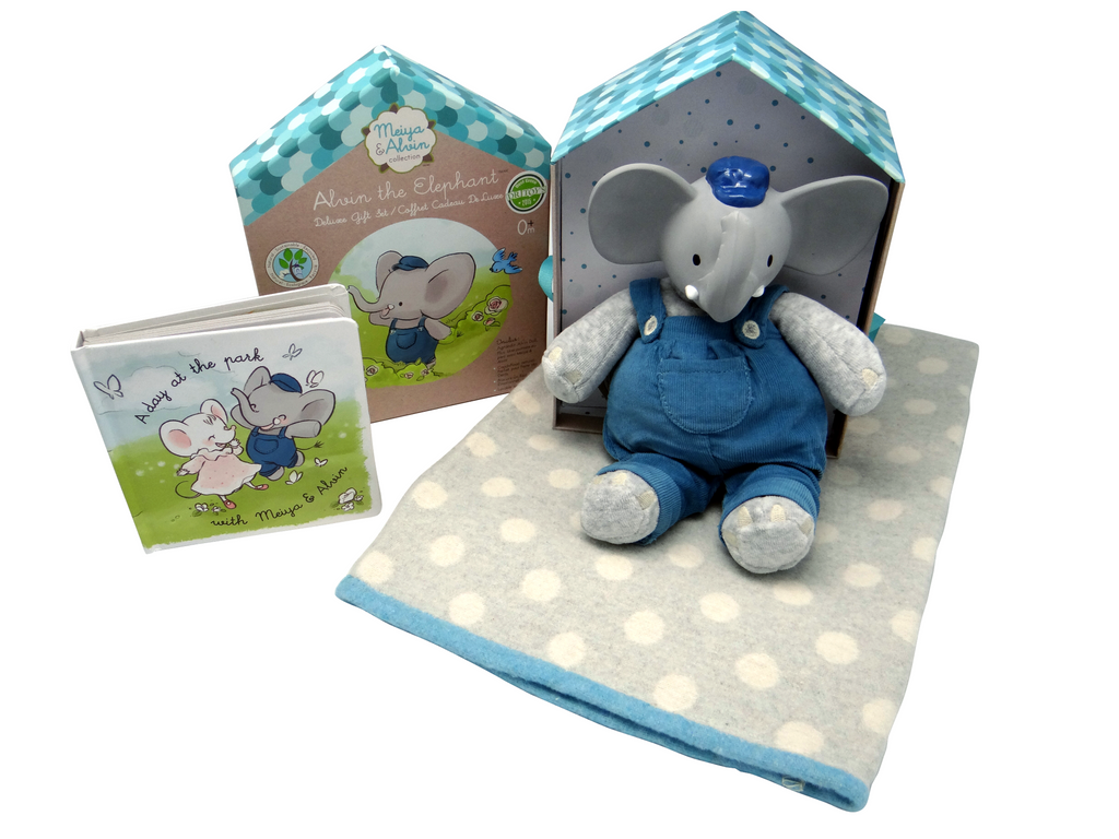 Baby Gift Set Blue Jasper Junior
