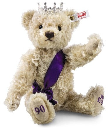 Steiff Queen Elizabeth 90th Birthday Bear