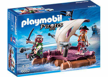 Playmobil Pirate Raft 6682 Jasper Junior