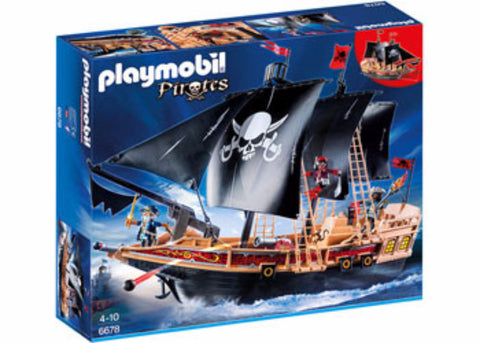 Playmobil Pirate Ship Jasper Junior