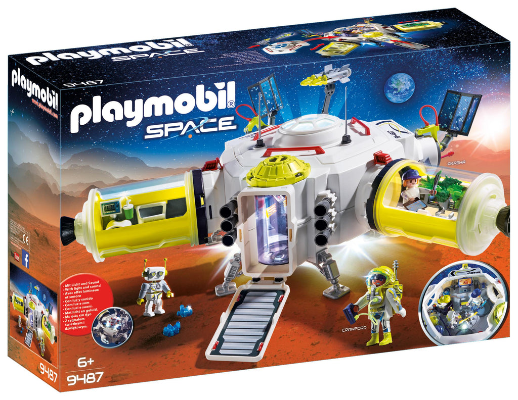 Playmobil Space Station