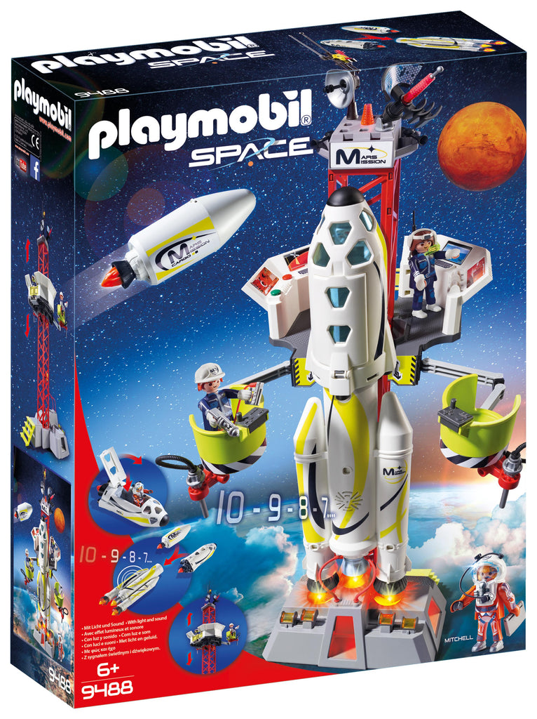 Playmobil Space Mission Rocket