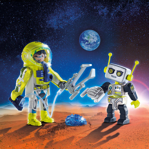Playmobil Space Figure Duo